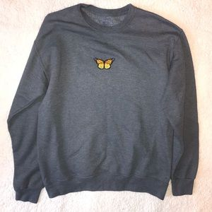 Butterfly Patch Crewneck